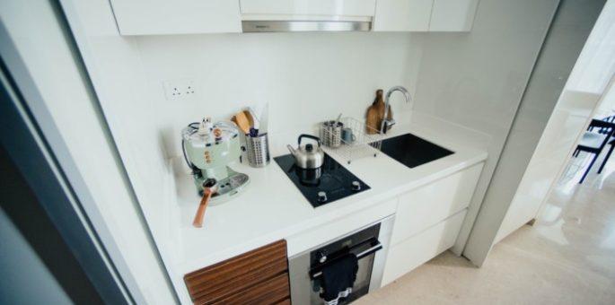 Universal Küchenmaschinen in einer Küche